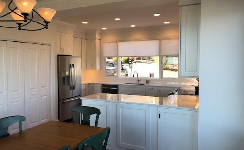<span>Champion Hills:</span> White on white kitchen remodel- Champion Hills